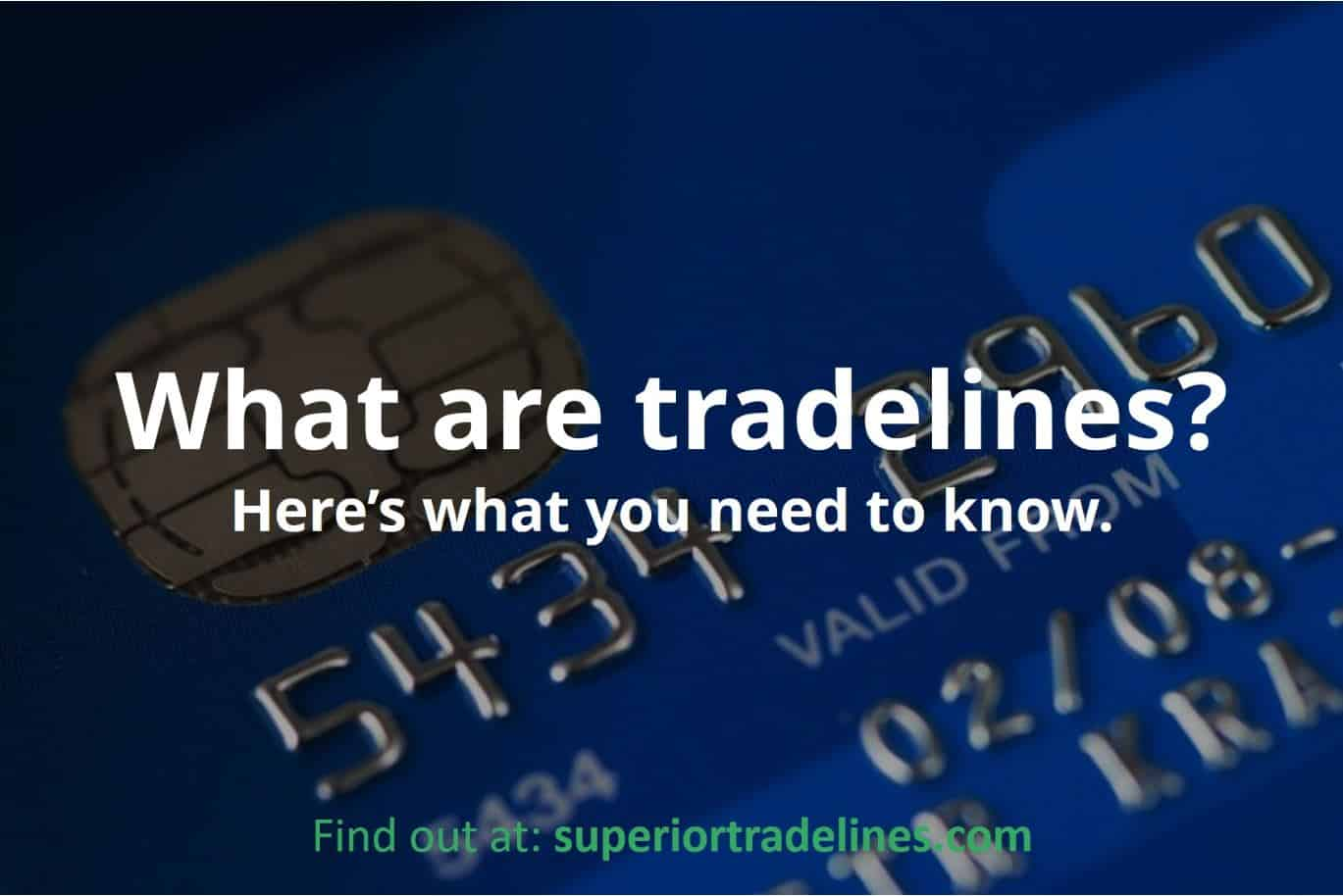 what are tradelines explained