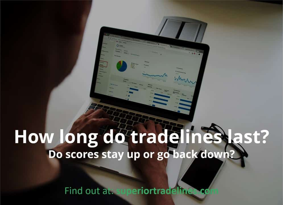 how long do tradelines impact credit scores