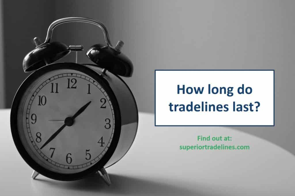 how long do tradelines last