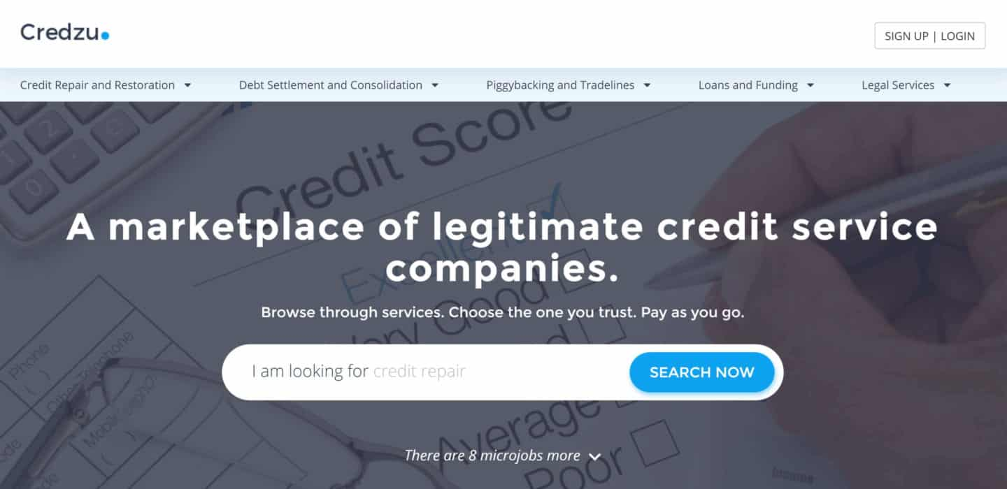 credzu credit repair marketplace