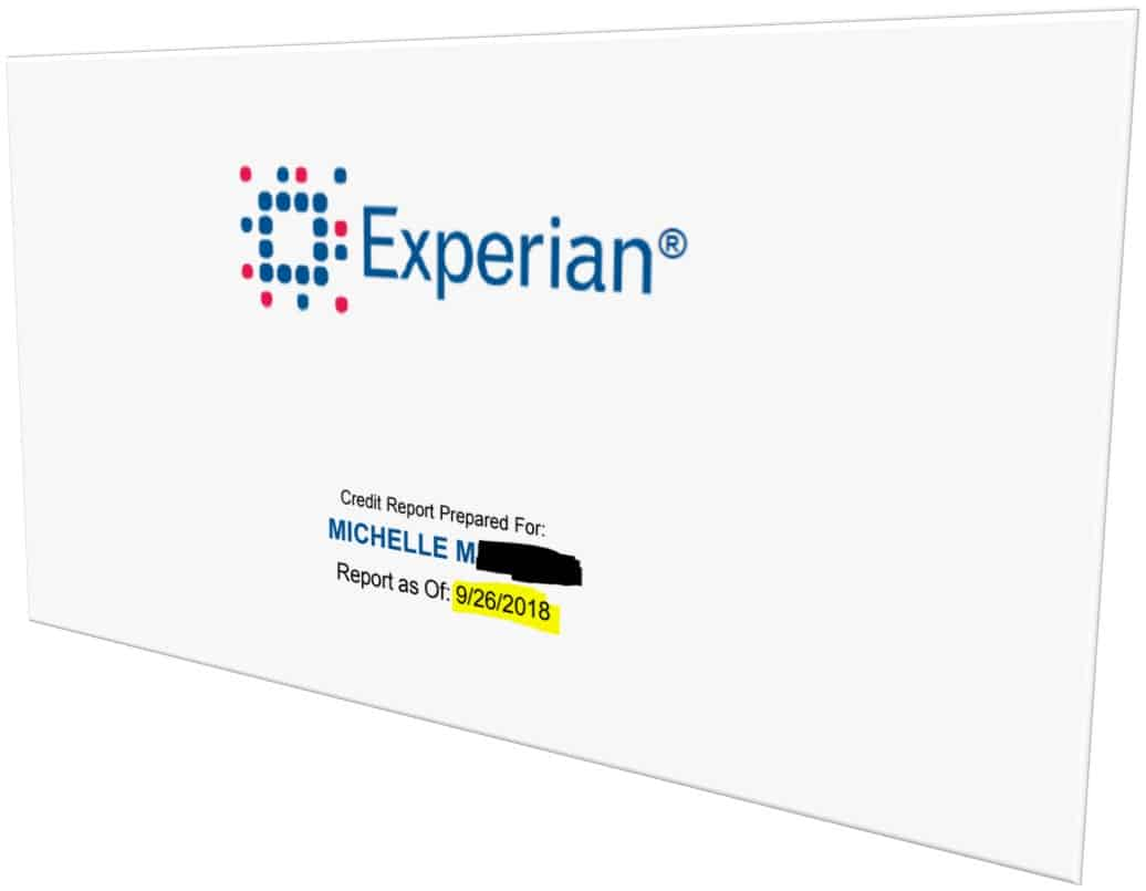 credit reporting bureau Experian