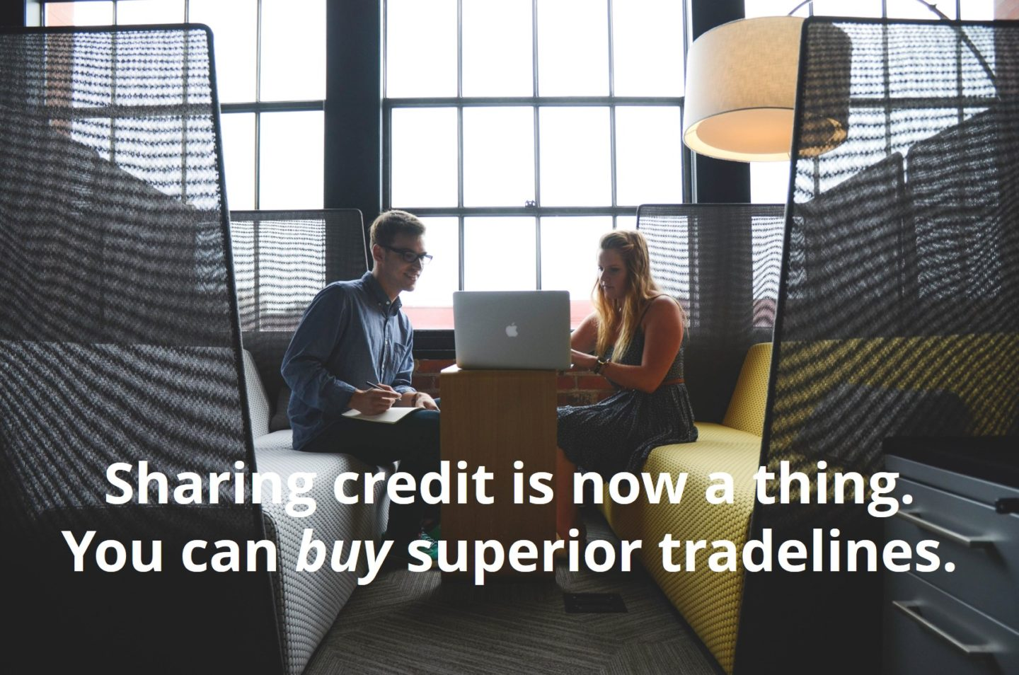 sharing credit for superior tradelines
