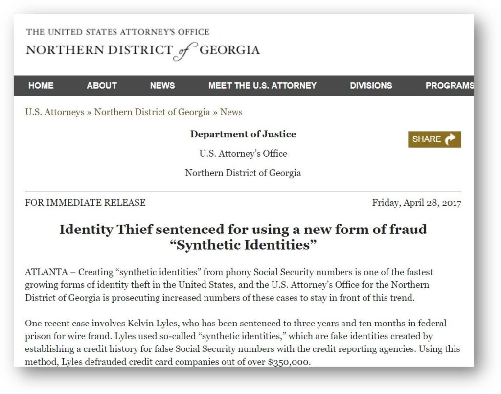 CPN is synthetic identity fraud