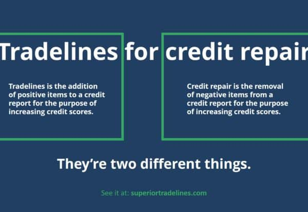 tradelines for credit repair image