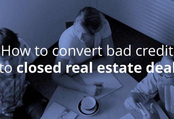 bad credit real estate deals